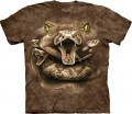 Snake Moon Eyes - T-shirt The Mountain