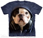 DJ Manny the Frenchie - T-shirt The Mountain