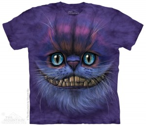 Big Face Cheshire Cat - T-shirt The Mountain