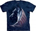 Patriotic Horse Head - T-shirt The Mountain