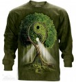 Yin Yang Tree - T-shirt z długim rękawem The Mountain