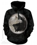 Yin Yang Wolves - wilki - bluza z kapturem The Mountain