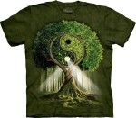 Yin Yang Tree - koszulka unisex The Mountain