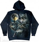 Moon Wolves Collage - bluza z kapturem The Mountain
