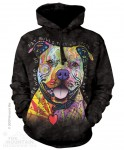 Beware of Pit Bulls - Bluza z kapturem The Mountain