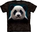 Panda Head - koszulka unisex The Mountain