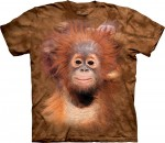 Orangutan Hang - mały orangutan - koszulka unisex The Mountain