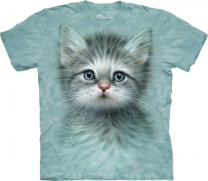 Blue Eyed Kitten - kot - koszulka unisex The Mountain