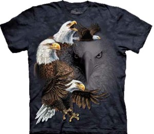 Find 10 Eagles - T-shirt The Mountain