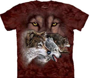 Find 9 Wolves - T-shirt The Mountain