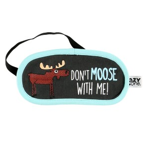 LazyOne Don't Moose with Me - maska z łosiem 3