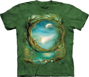Moon Tree - koszulka unisex The Mountain (Rozmiar 4XL)