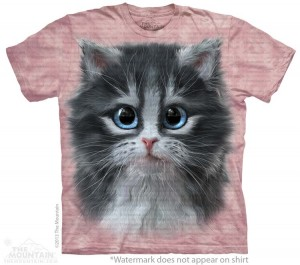 Pretty in Pink Kitten - kot - koszulka unisex The Mountain