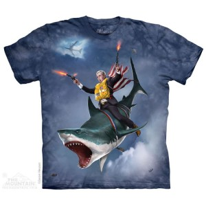 Dubya Shark - T-shirt The Mountain
