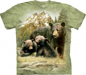 Black Bear Family - koszulka The Mountain