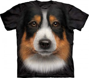 Australian Shepherd - koszulka unisex The Mountain