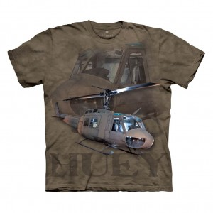 U. S. Army Huey - Helicopter - koszulka The Mountain OL