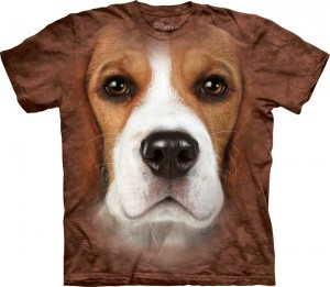Beagle Face - koszulka unisex The Mountain