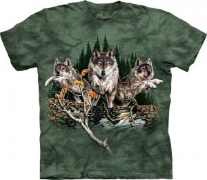 Find 12 Wolves - T-shirt The Mountain
