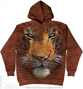 Tiger Face - tygrys - bluza z kapturem The Mountain