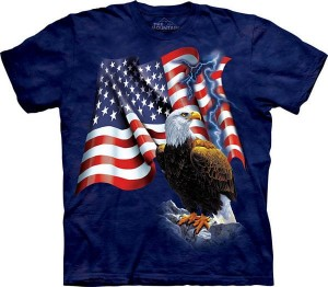 Eagle Flag - T-shirt The Mountain