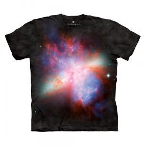 Starburst Galaxy - kosmos - koszulka unisex The Mountain OL, Smithsonian