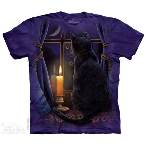 Midnight Vigil - kot - Lisa Parker - koszulka unisex The Mountain (Rozmiar 4XL)
