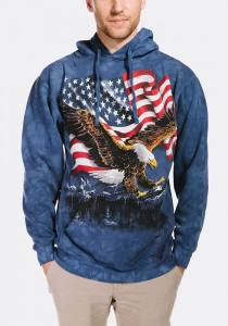 Eagle Talon Flag - Bluza z kapturem The Mountain