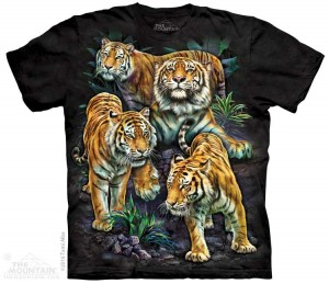 Bengal Tiger Collage - koszulka unisex The Mountain