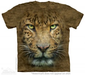 Big Face Leopard - koszulka unisex The Mountain