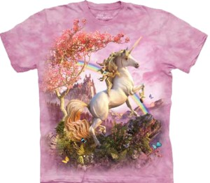 Awesome Unicorn - koszulka unisex The Mountain