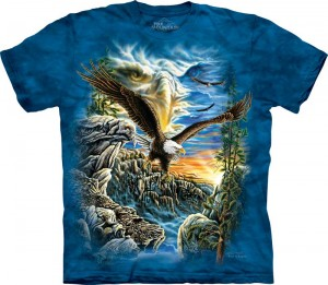 Find 11 Eagles - T-shirt The Mountain