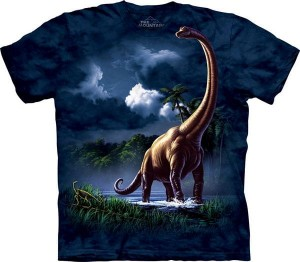 Brachiosaurus - dinozaur - koszulka unisex The Mountain