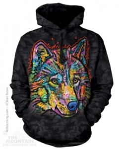 Happy Wolf - bluza z kapturem The Mountain