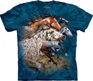 Find 13 Horses - T-shirt The Mountain
