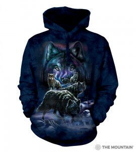 Wolf Pack - wilki - bluza z kapturem The Mountain