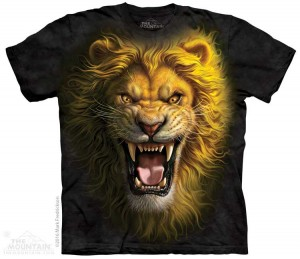 Asian Lion - lew - koszulka unisex The Mountain