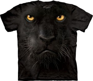 Black Panther Face - koszulka unisex The Mountain