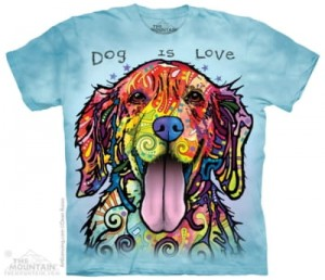 Dogs Is Love - koszulka unisex The Mountain