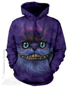 Big Face Cheshire Cat - Bluza z kapturem The Mountain
