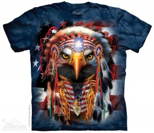 Native Patriotic Eagle - koszulka The Mountain