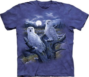 Snowy Owls - koszulka unisex The Mountain