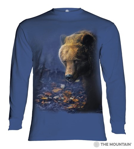 Foraging Bear - T-shirt z długim rękawem The Mountain
