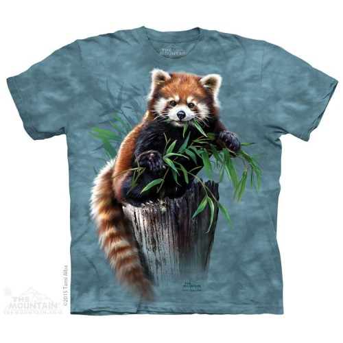 Bamboo Red Panda - koszulka The Mountain