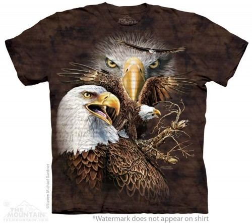 Find 14 Eagles - T-shirt The Mountain
