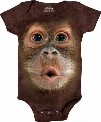 Orangutan Baby - body niemowlęce the Mountain